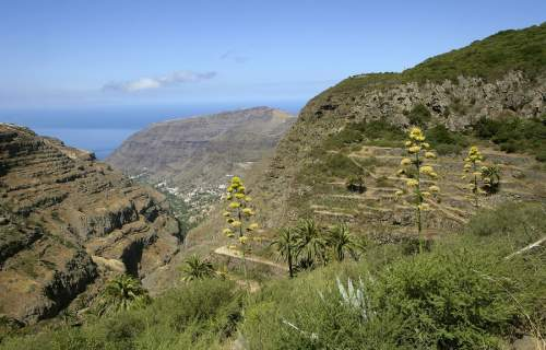 The west side of La Gomera